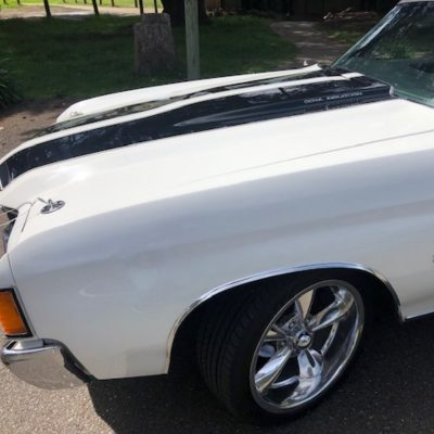 Classic Chevrolet wedding car hire melbourne